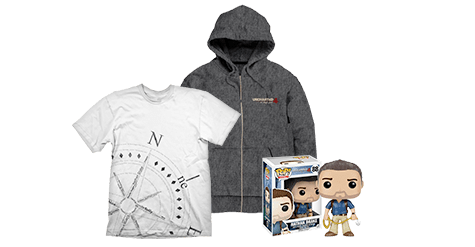 Uncharted 4: A Thief's End Merchandise