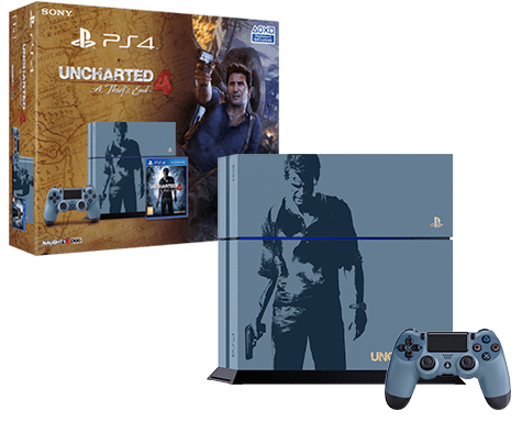 Uncharted 4: A Thief's End Limited Edition PlayStation 4 Console