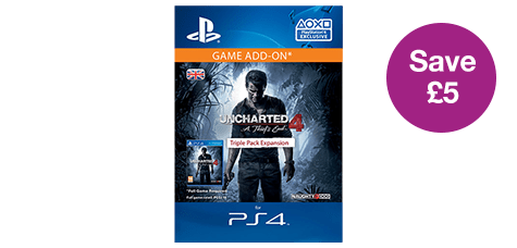 Uncharted 4: A Thief's End - Triple Pack Expansion