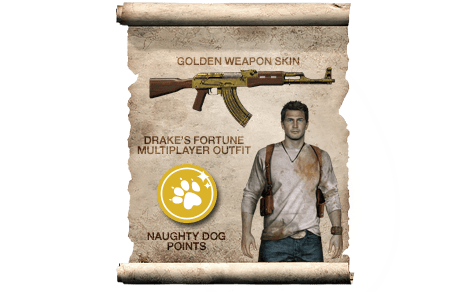 Uncharted 4: A Thief's End Preorder Bonus - Only at GAME.co.uk!