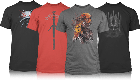 The Witcher 3 Wild Hunt Merchandise