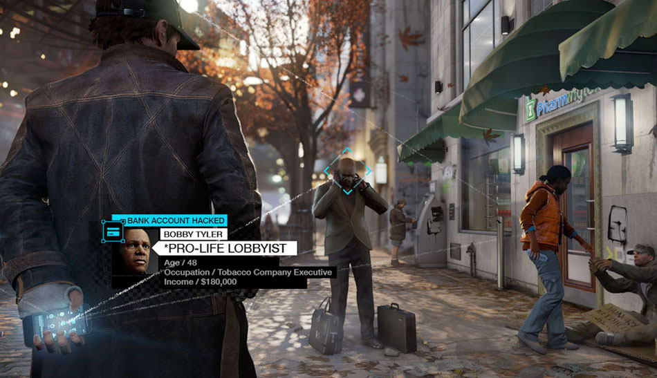 GAME review - Watch Dogs on PlayStation 4, PlayStation 3, Xbox One, Xbox 360 and PC