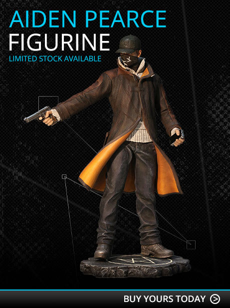 Watch Dogs Aiden Pearce Execution Figurine