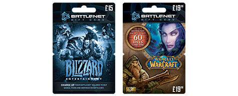 Battle.net Top-Up cards - Buy Now at GAME.co.uk!