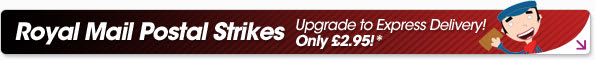 Royal Mail Postal Strikes - upgrade to express delivery for only £2.95