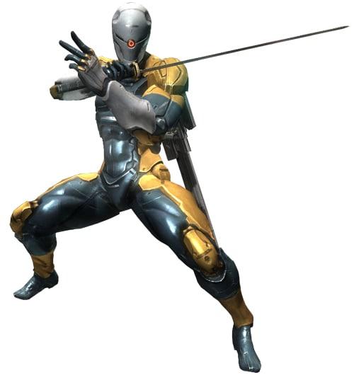 ¿Veriais bien un reinicio o reinvención de Metal Gear? MGRCyborgNinja