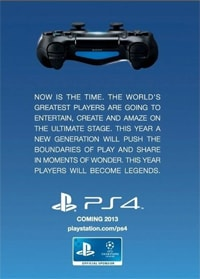 PS4 2013 release date at GAME