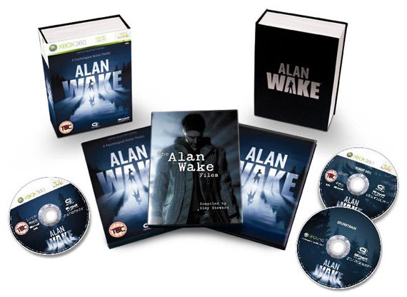 Alan Wake Collectors Edition Contents