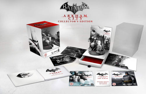 Batman Arkham City Collector's Edition Contents