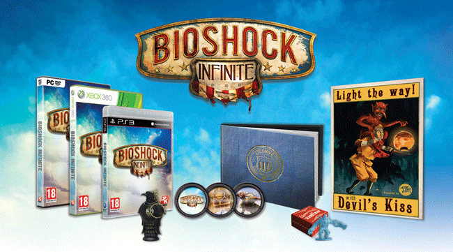 Bioshock Infinite Ultimate Premium Edition available on Xbox 360, PS3 and PC at GAME