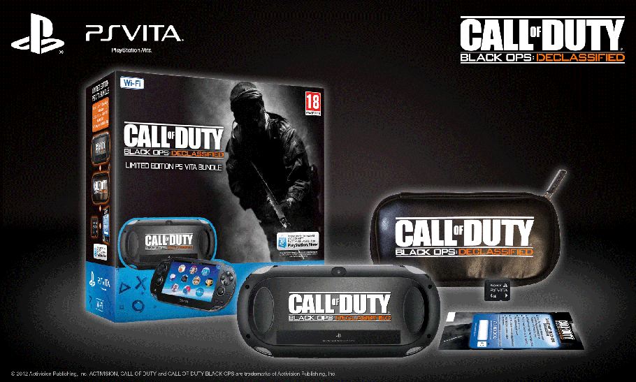 Limited Edition Call of Duty: Black Ops Declassified PS Vita (Wifi Only) with Call of Duty: Black Ops Declassified