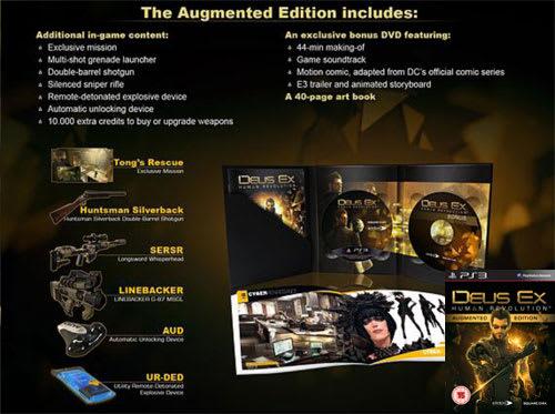 Deus Ex Human Revolution Augemented Edition Contents