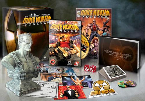 Duke Nukem Forever Goodies!