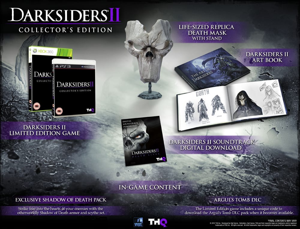 Darksiders II Collector's Edition at GAME