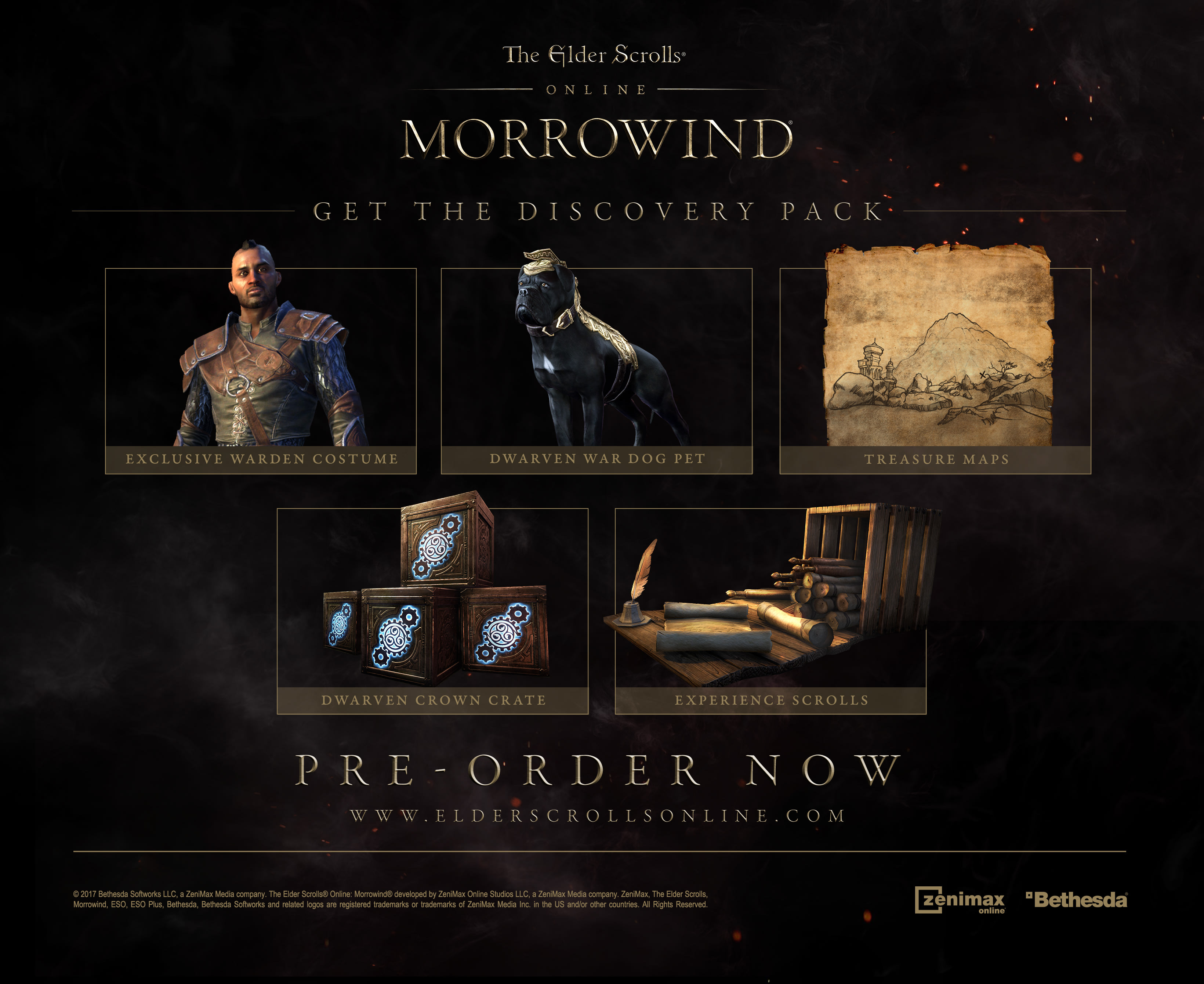 Buy Elder Scrolls Online Morrowind Upgrade Edition On Pc Downloads  Free  Uk Delivery  Game