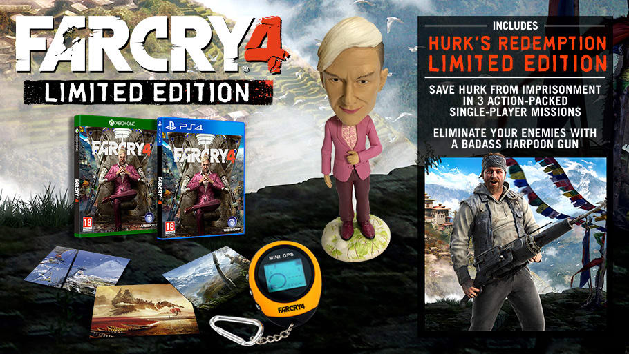 Buy Far Cry 4 Limited Edition With Yak Farm Pack Mission And Himalayan Pack Co Uk On Xbox One Game