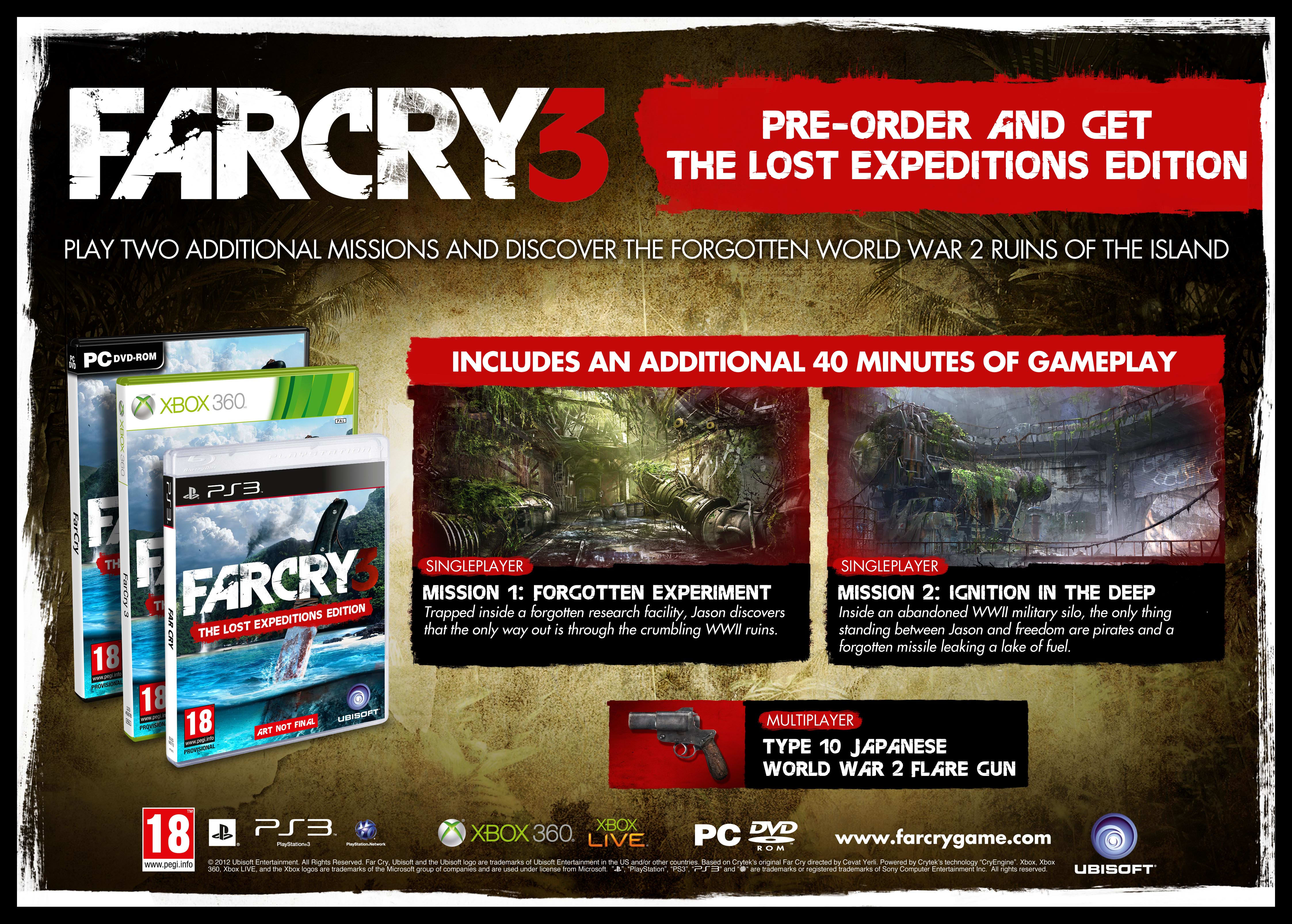 FarCry 3 Lost Expedition Edition