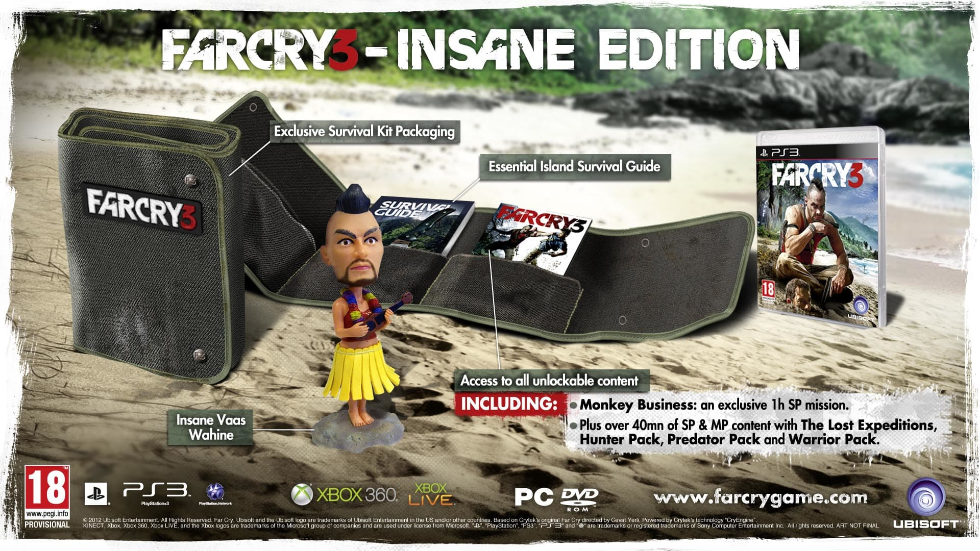 Far Cry 3 Insane Edition on PlayStation 3 at GAME