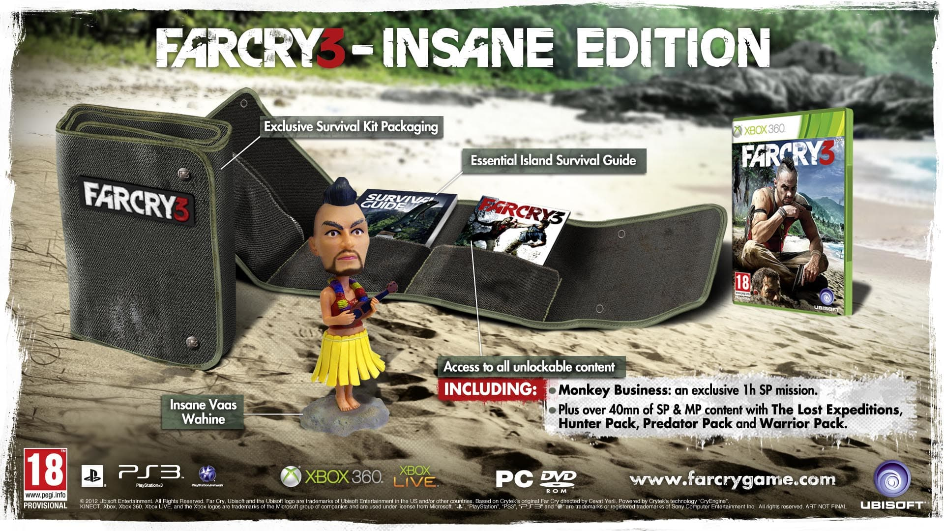 Far Cry 3 Insane Edition on Xbox 360 at GAME