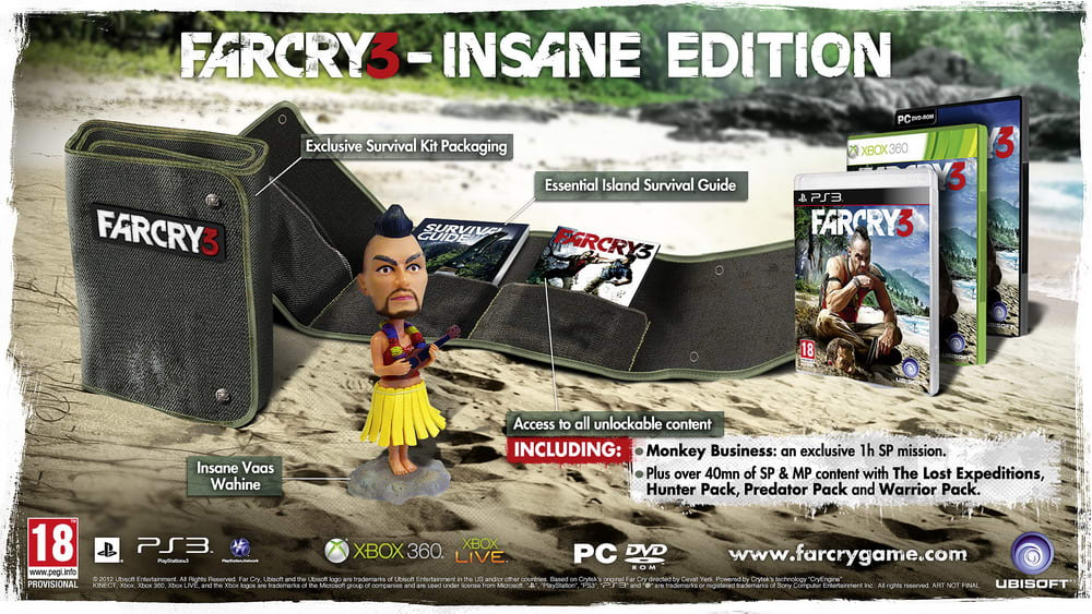 Far Cry 3 Insane Edition  on PC at GAME