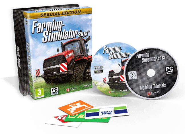 Farming Simulator 2013 Special Edition available at GAME