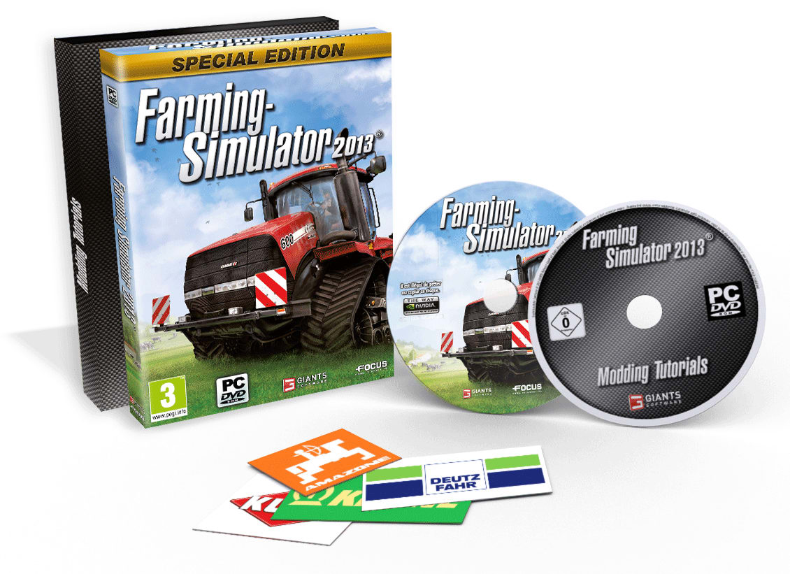 Buy Farming Simulator 2013 - GAME Exclusive Special Edition on PC