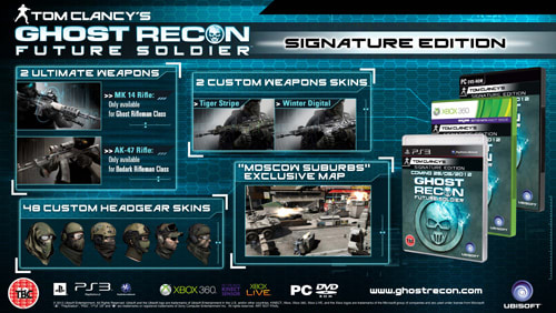 Join the Ghosts as you taking on a new threat with state-of-the-art weaponry in Ghost Recon Future Soldier