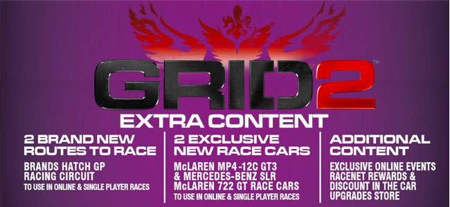 GRID 2 GAME Exclusive