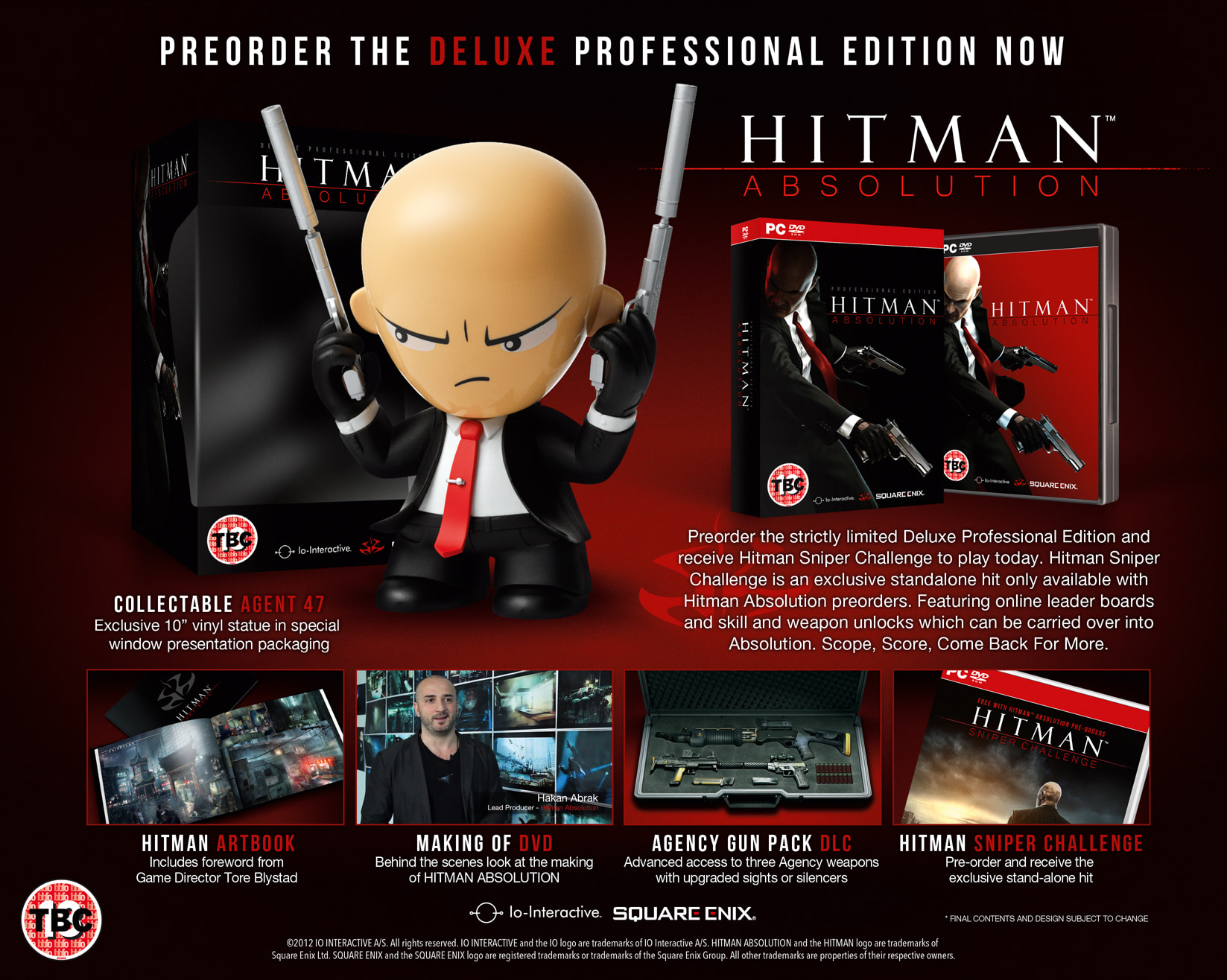 Hitman Absolution Deluxe Professional Edition for PC at GAME