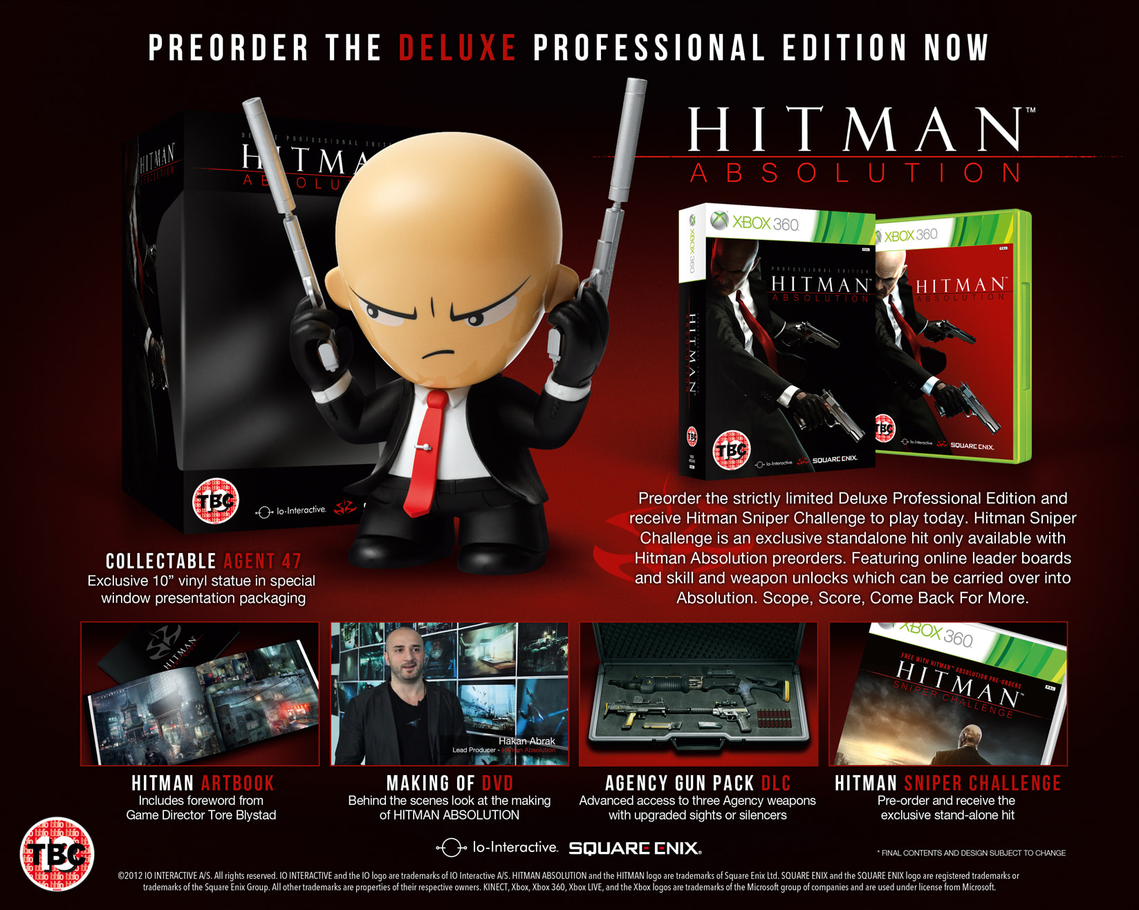 Hitman Absolution Deluxe Professional Edition for Xbox 360 at GAME