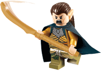 LEGO Lord of the Rings Elrond Mini Figure