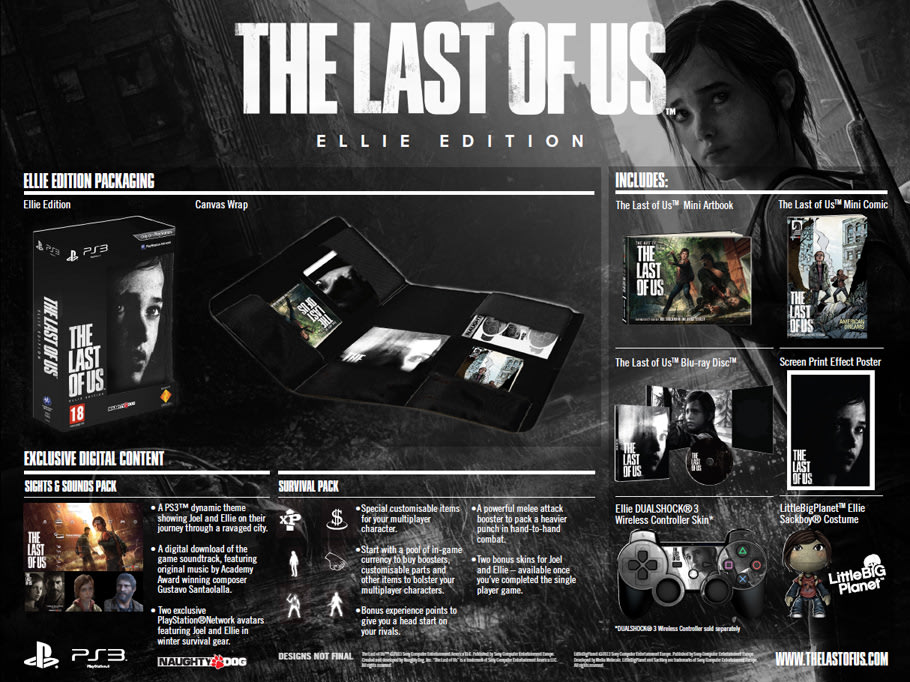 The Last of Us Ellie Edition for PlayStation 3 at GAME