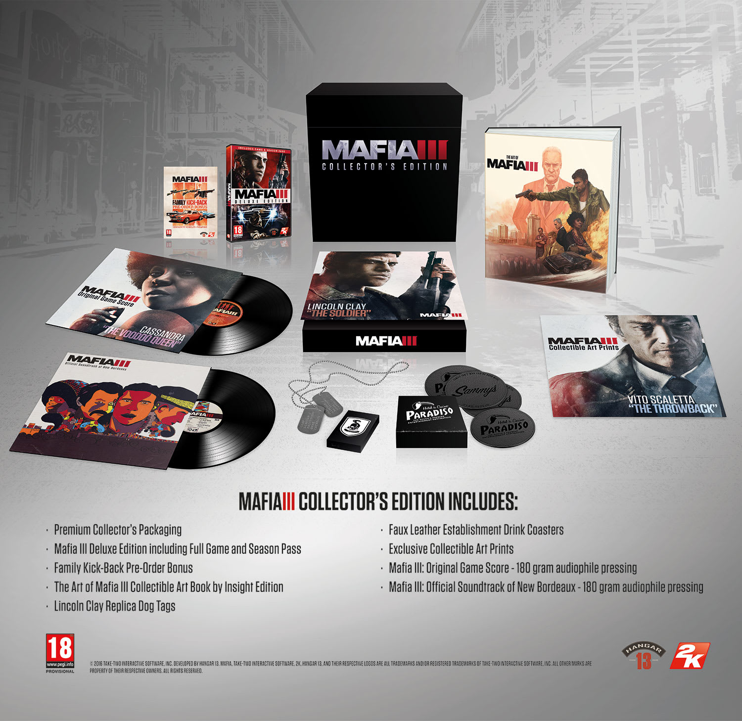 Mafia 3 Collector's Edition - Pre-order Now at GAME.co.uk!