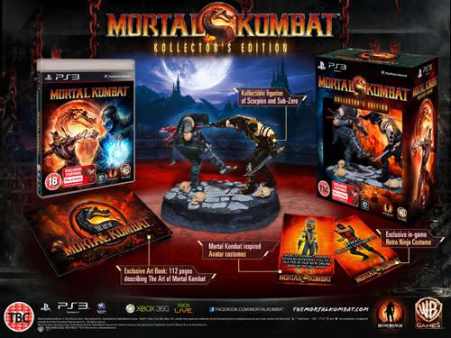 mortal kombat 9 sub zero costumes. Mortal Kombat Kollector#39;s