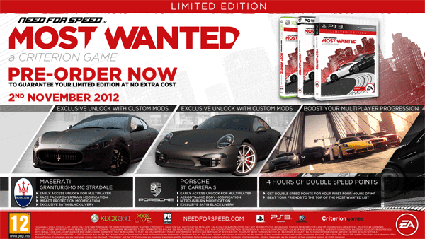 Need for Speed Limited Edition