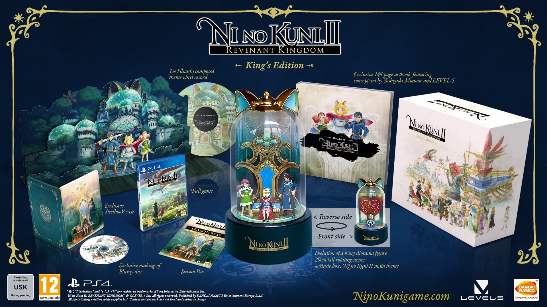 Ni No Kuni II: Revenant Kingdom - King's Edition