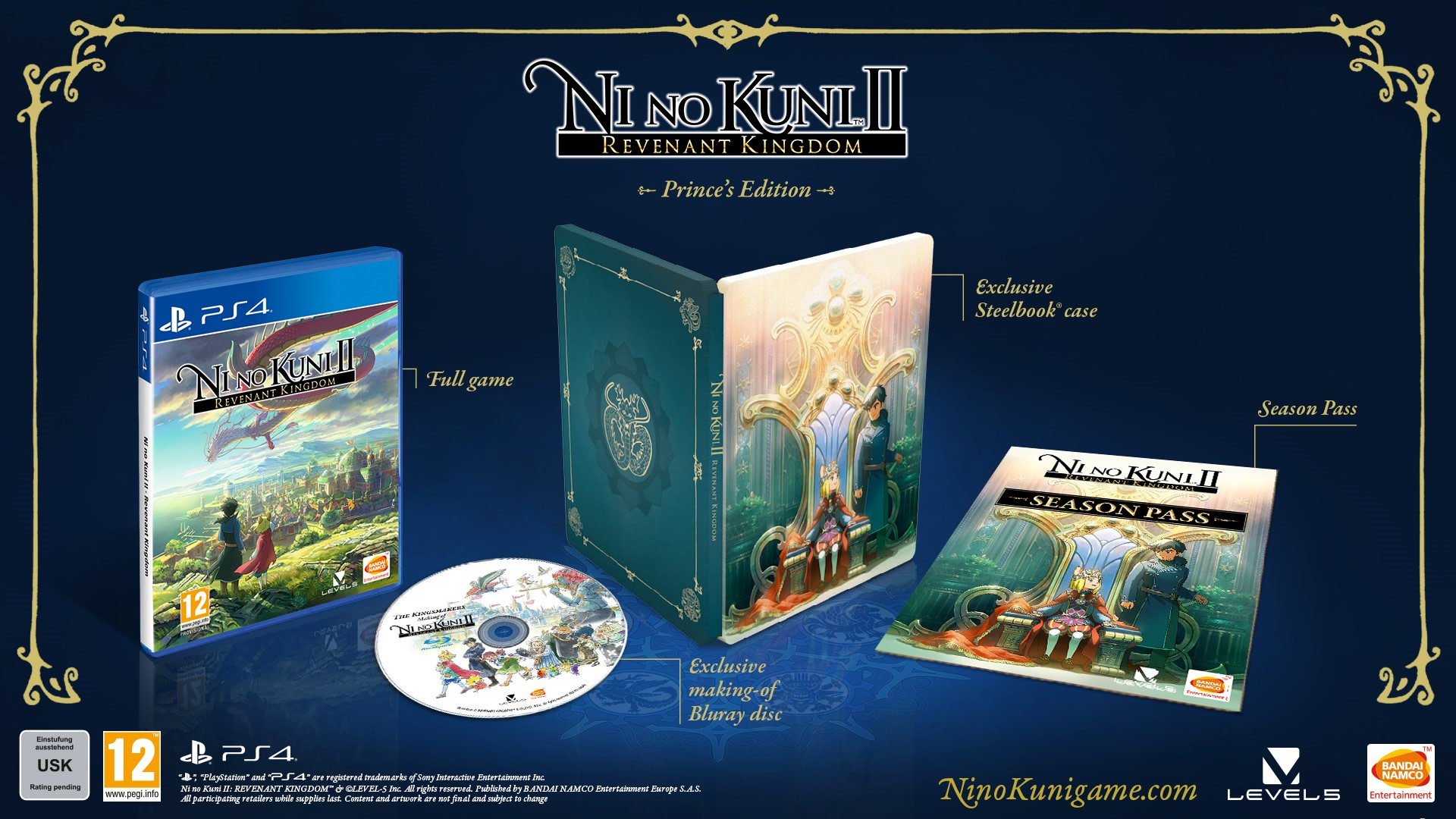 Ni No Kuni II: Revenant Kingdom - Princes Edition ONLY AT GAME