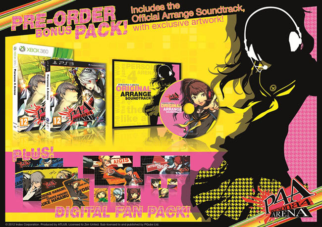 Persona 4 Arena Limited Edition on Xbox 360 and PlayStation 3