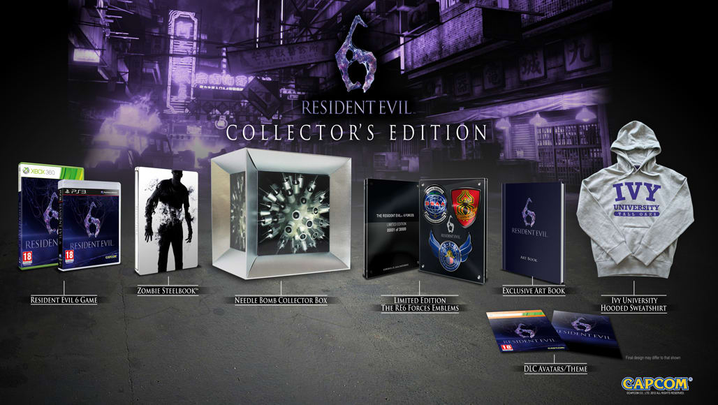 Resident Evil 6 Collector's Edition  Exclusively at GAME