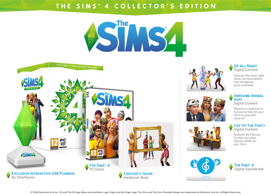 Sims 4 Collectors Edition Exclusive at GAME