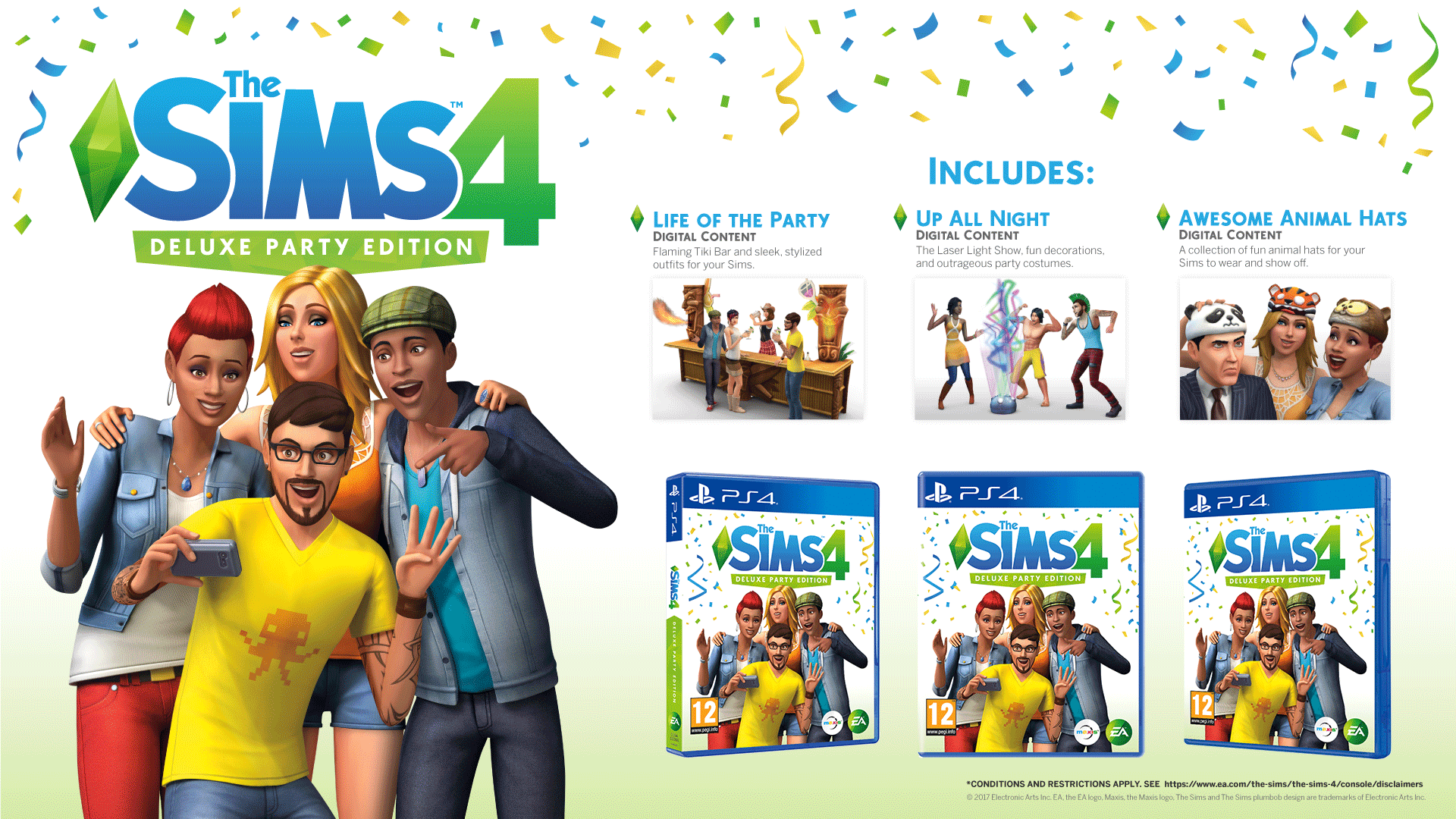 Buy The Sims 4 Deluxe Party Edition On Playstation 4 Game