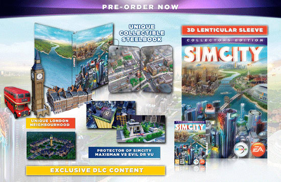 Sim City Collectors Edition London