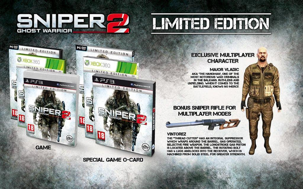 Sniper; Ghost Warrior 2 Limited Edition at GAME