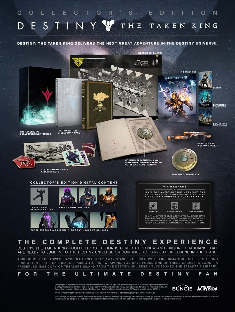 Buy Destiny: The Taken King Co...