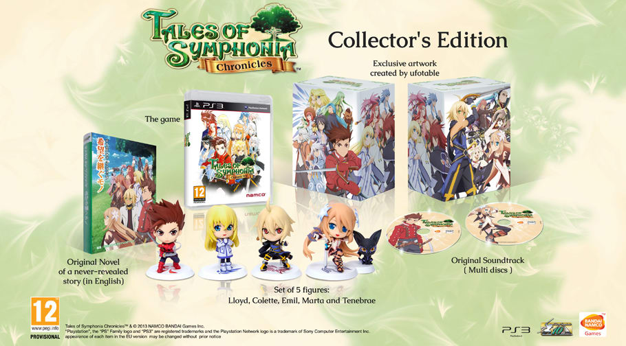 Tales of Symphonia Chronicles Collector's Edition only on PlayStation 3