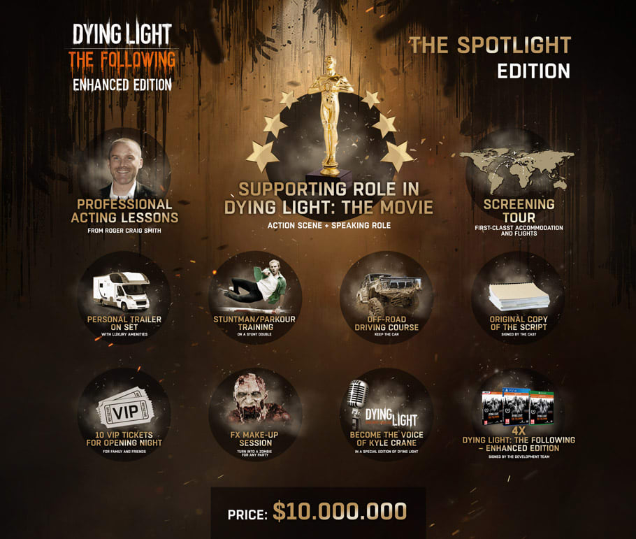 Buy Dying Light: The Following - The Spotlight Edition on