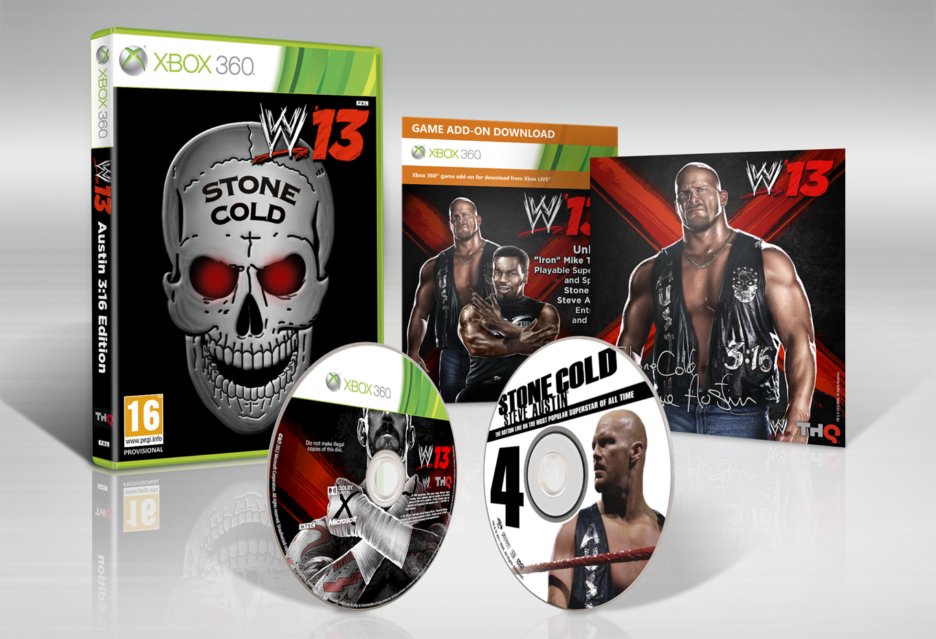 GAME exclusive WWE '13 Austin 3:16  Collector's Edition on Xbox 360