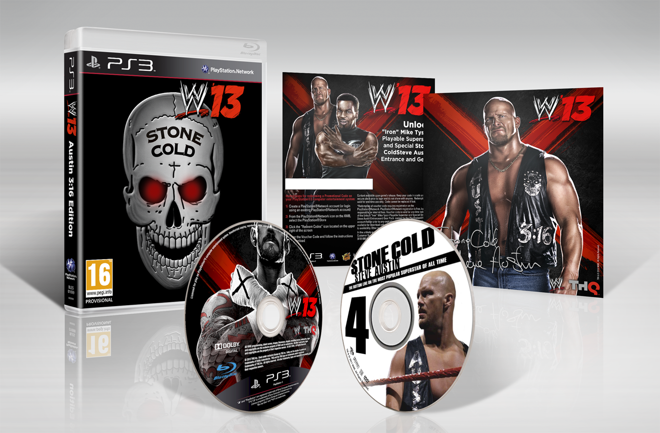 GAME exclusive WWE '13 Austin 3:16  Collector's Edition on PlayStation 3