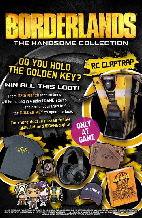 Borderlands Loot Giveaway at GAME.
