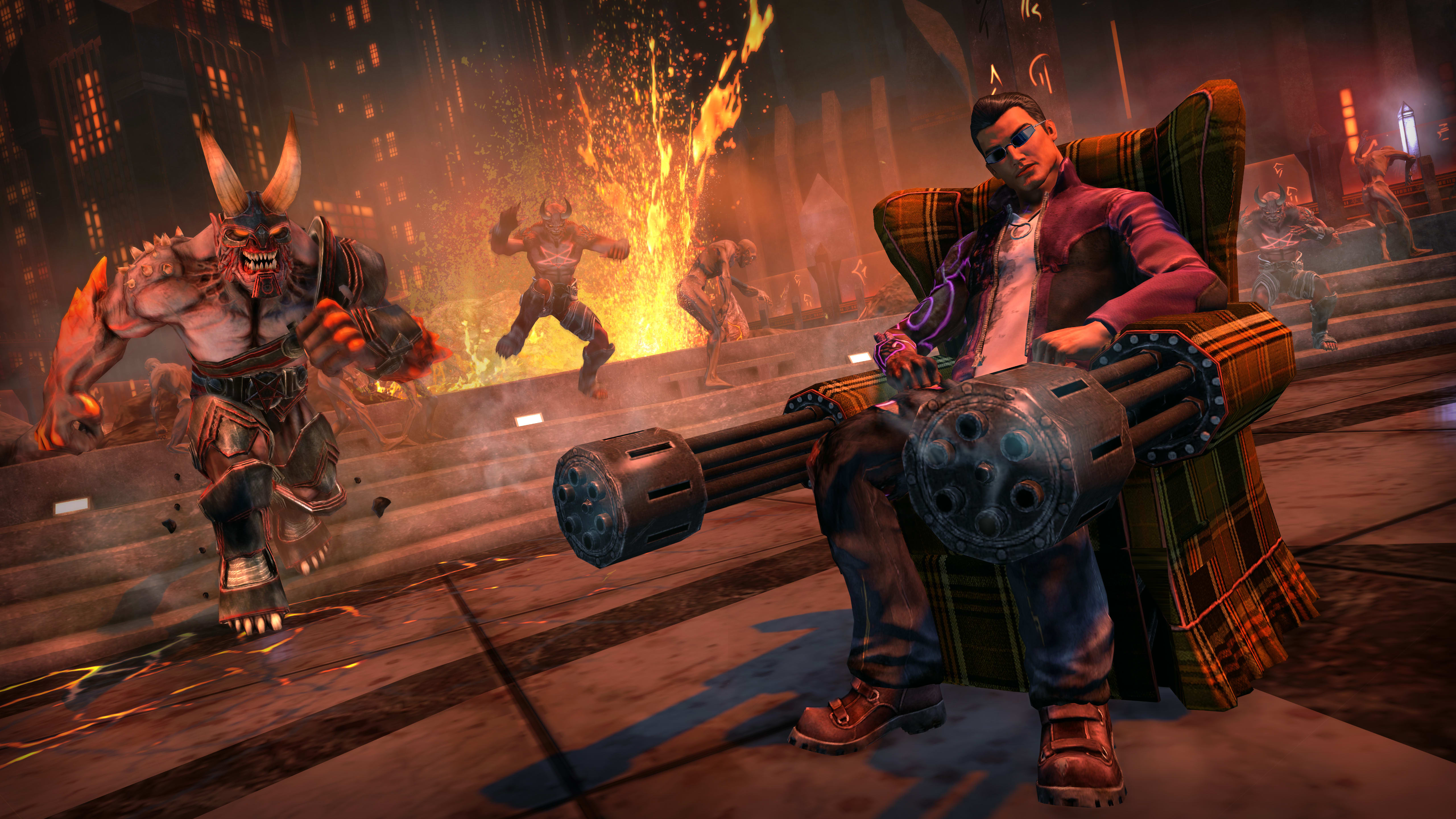 Gat Gear - Saints Row IV Re-Elected & Gat Out of Hell